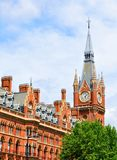 St. Pancras train station in London Stock Photos