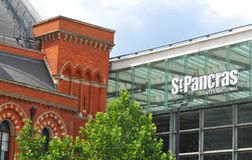 St Pancras train station in London Stock Photography