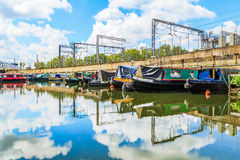 St Pancras Yacht Basin Stock Photography