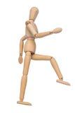 Stąpanie kroka marionetka Fotografia Stock