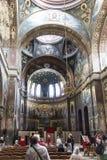 St Panteleimon教会 新的athos 阿布哈兹 库存照片