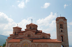 St Panteleimon, Plaosnik,奥赫里德,马其顿 免版税库存照片