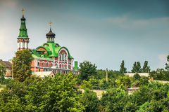 St Panteleimon Cathedral (Kiev) Foto de Stock Royalty Free