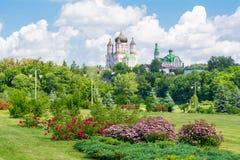 St. Panteleimon Monastery Royalty Free Stock Photos