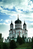 St Panteleimon& x27; s-domkyrka Arkivfoto