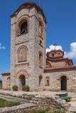 St Pantelejmon Church, Ocrida, Macedonia Immagine Stock Libera da Diritti