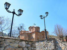 St Pantelejmon da igreja em Skopje, Macedônia Imagens de Stock Royalty Free