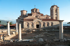 St Panteleymon Church In Ohrid, Republic Macedonia Royalty Free Stock Photos