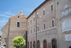 St. Paolo Church. Macerata. Marche. Stock Images