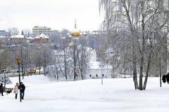 St Paraskeva Church i Podil Arkivfoto