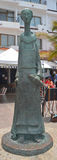 St Pascual statua Obraz Royalty Free