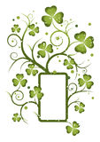St pat curly frame 5 Royalty Free Stock Images