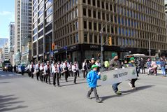 St Patric`s Day in Toronto Royalty Free Stock Image