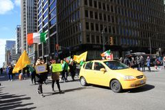 St Patric ` s dzień w Toronto Fotografia Stock