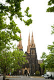 St. Patrick's Cathedral, Australia Stock Photo