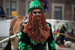 St. Patrick's Day Parade Indianapolis 2018 Royalty Free Stock Images