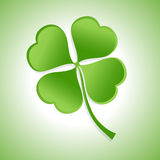 St. Patrick�s Day Shamrock Stock Images