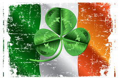 St. Patrick�s Day Three Leafed Clover Royalty Free Stock Photography