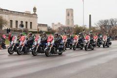 St Patrick's dnia parada Indianapolis 2017 Obraz Stock