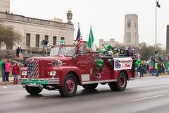 St Patrick's dnia parada Indianapolis 2017 Fotografia Stock