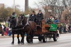 St Patrick's dnia parada Indianapolis 2017 Zdjęcie Royalty Free