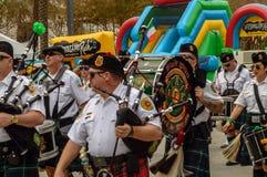 St Patrick's parada março de 2018 no rapaz do forte do bulevar dos Olas de Las imagem de stock royalty free