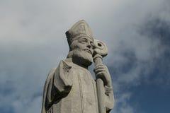 St Patrick à la tête de Downpatrick images libres de droits