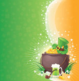 St. Patrick achtergrond Royalty-vrije Stock Afbeeldingen