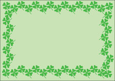 St Patrick background_1 Photo stock