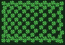 St Patrick background_1 Royaltyfria Foton