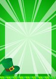 St Patrick Background Royalty Free Stock Photography