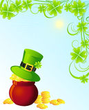 St. Patrick background Stock Photo