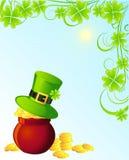 St. Patrick background Stock Photo