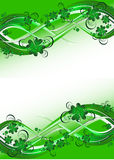 St. Patrick background Stock Photos