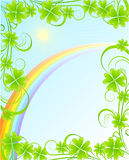 St. Patrick background Stock Photos