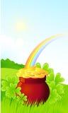 St. Patrick background Royalty Free Stock Photo