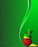 St. Patrick background Stock Image