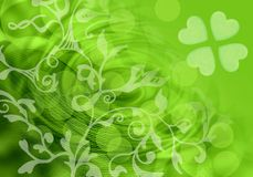 St. Patrick background Stock Photography