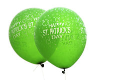 St. Patrick balloons Stock Photos
