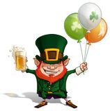 St Patrick - Balloons Stock Images