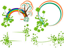 St Patrick banner set Stock Photography