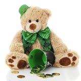 St. Patrick Bear Royalty Free Stock Photos