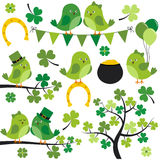 St Patrick Birds Immagine Stock