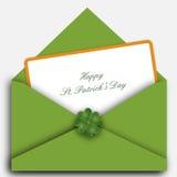 St. Patrick brief stock illustratie