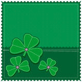 St. Patrick card Stock Image