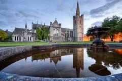 St Patrick Cathedral Dublin Ireland royalty-vrije stock fotografie