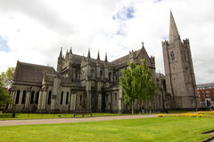 St Patrick Cathedral - Dublin, Irland Royaltyfria Foton