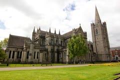 St Patrick Cathedral - Dublino, Irlanda Fotografie Stock Libere da Diritti