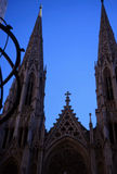 St.patrick catherdral new york city. St patricks catherdral in new york city Royalty Free Stock Photo