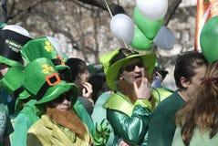 St. Patrick Dag, Boedapest, Hongarije royalty-vrije stock fotografie